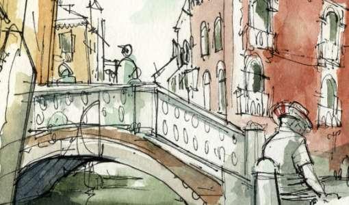 Lebendiges Urban Sketching für Fortgeschrittene